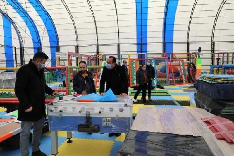 İncesu'da Kapalı Çocuk Parkı projesinde sona gelindi