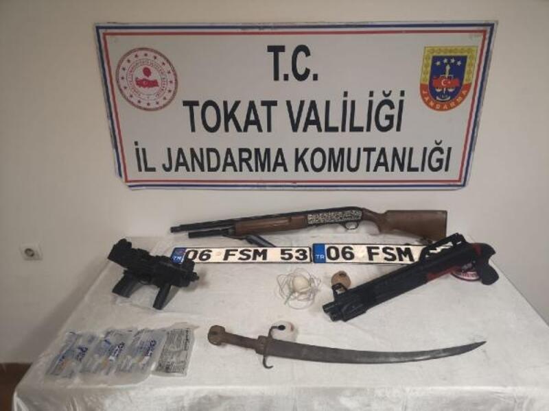 Tokat'ta jandarmadan uyuşturucu operasyonu