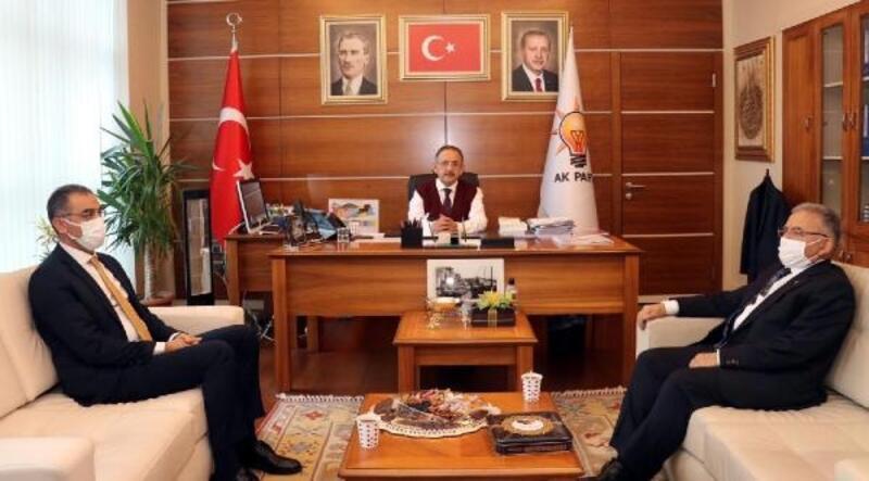 Kayseri Büyükşehir Belediye Başkanı Büyükkılıç'tan, Ankara ziyareti