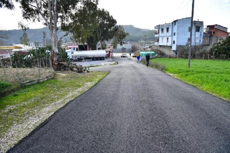 Çukurova'da 6 mahallede asfalt çalışması