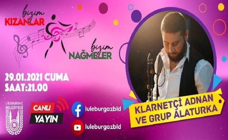 Lüleburgaz'da, 'Bizim kızanlar'ın bu haftaki konuğu Ahmet Özden oldu