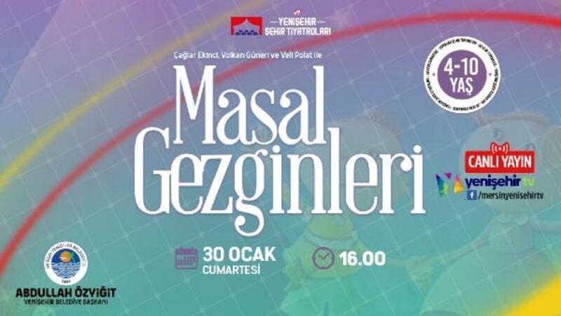 Yenişehir Belediyesi'nden çocuklar için online tiyatro