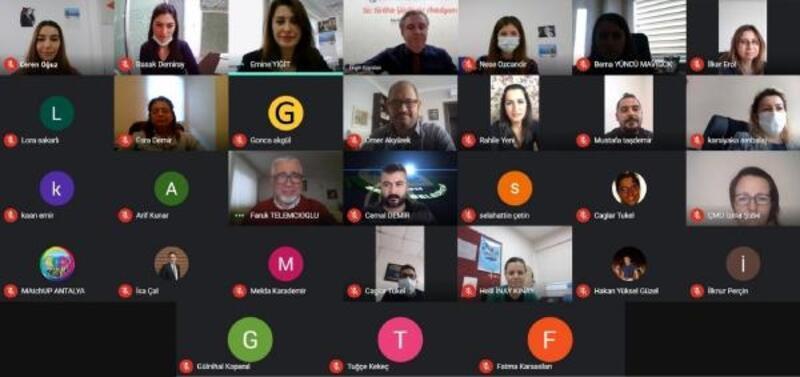 MatchUp Projesi'nin ikinci çevrimiçi Şehirler Ağı Çalıştayı yapıldı