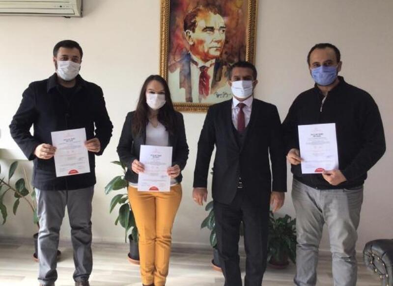 Korkuteli'deki 65 okula 'Okulum Temiz' belgesi