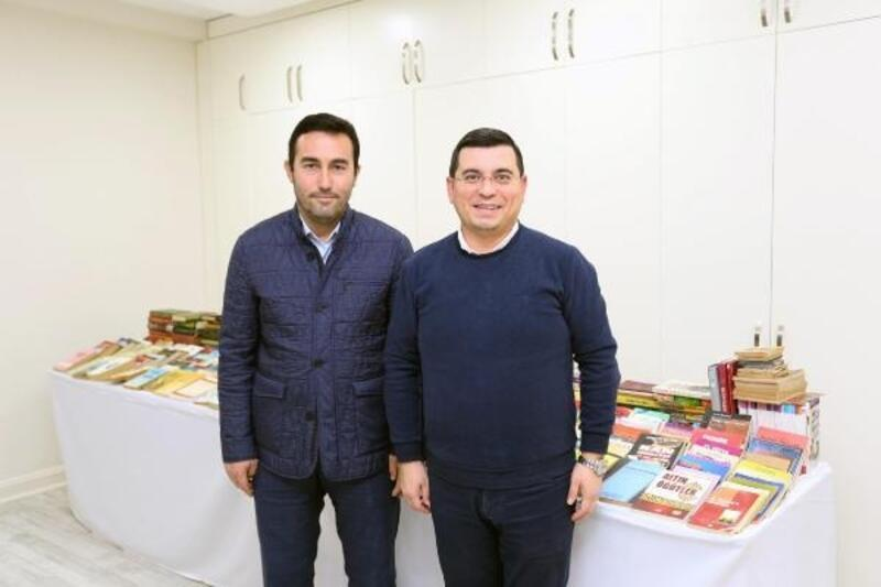 Cemil Meriç'e 50 binden fazla kitap bağışlandı
