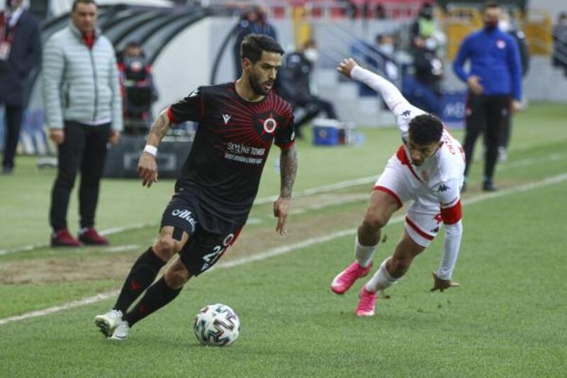 Gençlerbirliği- Fraport TAV Antalyaspor: 0-1