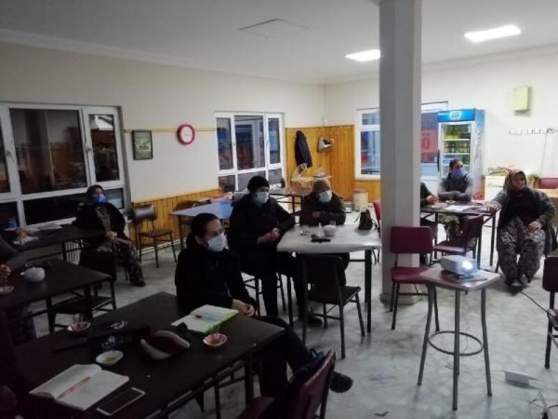 Kırklareli'de, kadın üretici eğitimleri devam ediyor