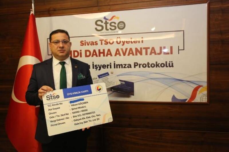 STSO'dan üyelerine kimlik ve avantaj kart imkanı