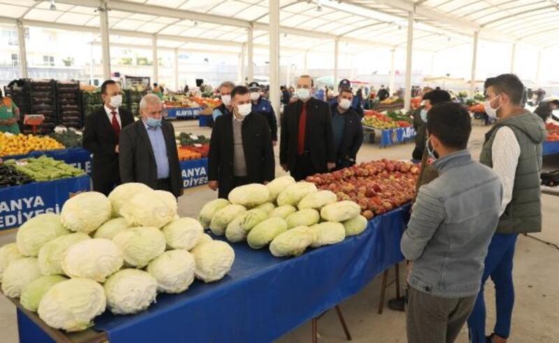 Avsallar kapalı pazar yeri hizmete açıldı