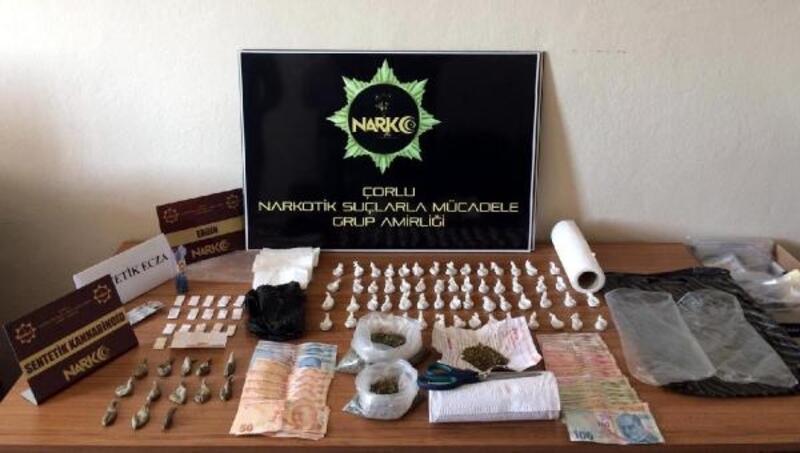Tekirdağ'da uyuşturucu operasyonunda 2 kişi tutuklandı