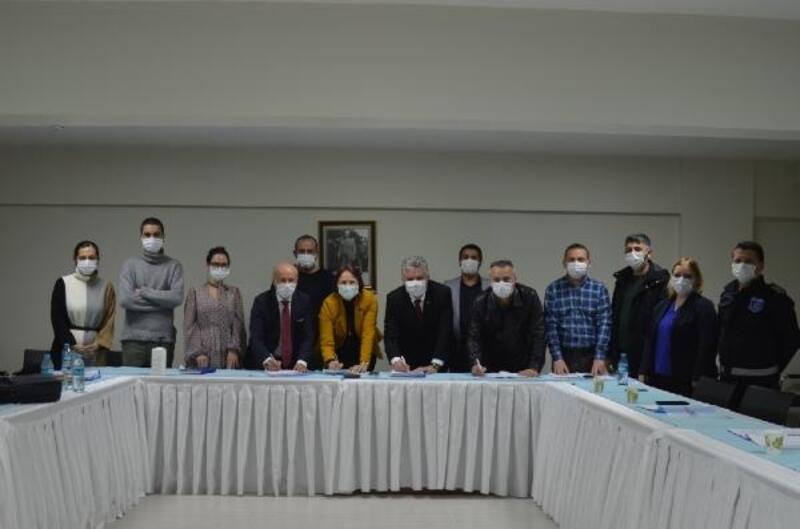 Lüleburgaz Belediyesi'nde toplu iş sözleşmesi imzalandı