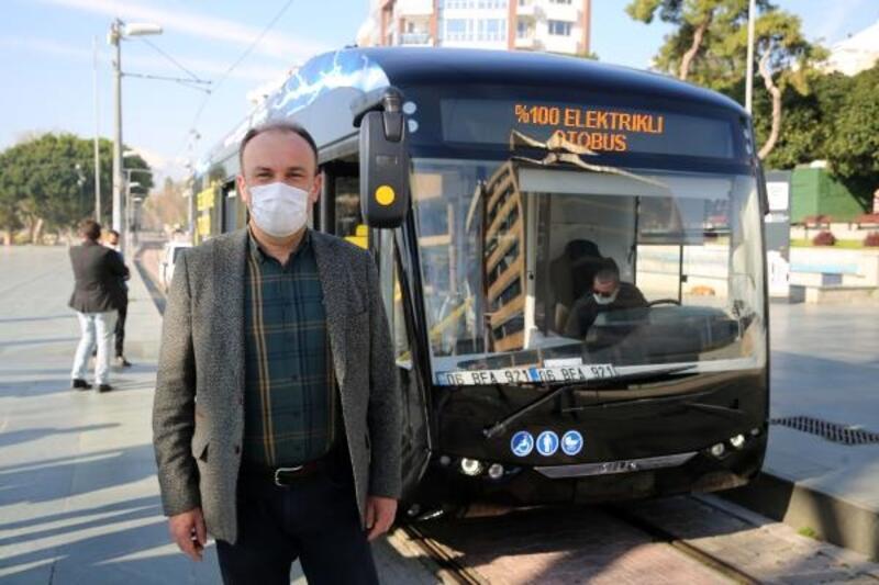 Çevre dostu elektrikli otobüsler test ediliyor