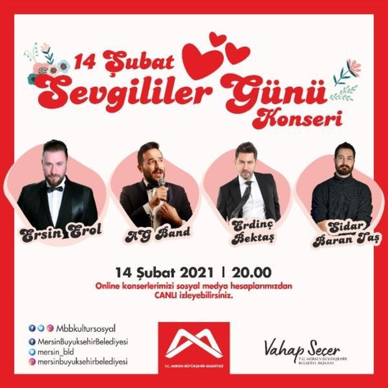 Büyükşehir'den Sevgililer Günü konseri