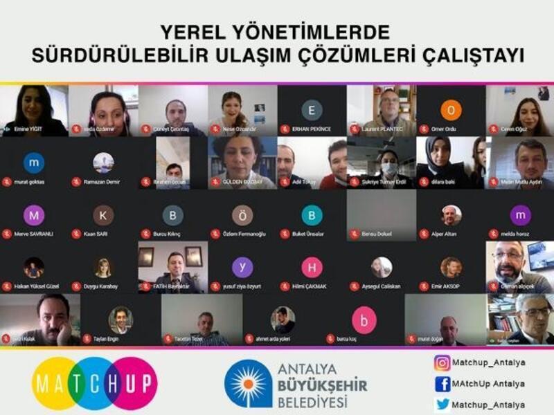 Büyükşehir Belediyesi'nden çevrimiçi çalıştay