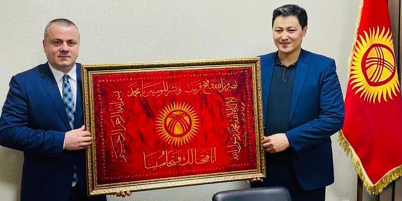 TÜGİAD Genel Başkanı Çevikel: Kırgızistan ile ticari ilişkileri geliştirmek istiyoruz