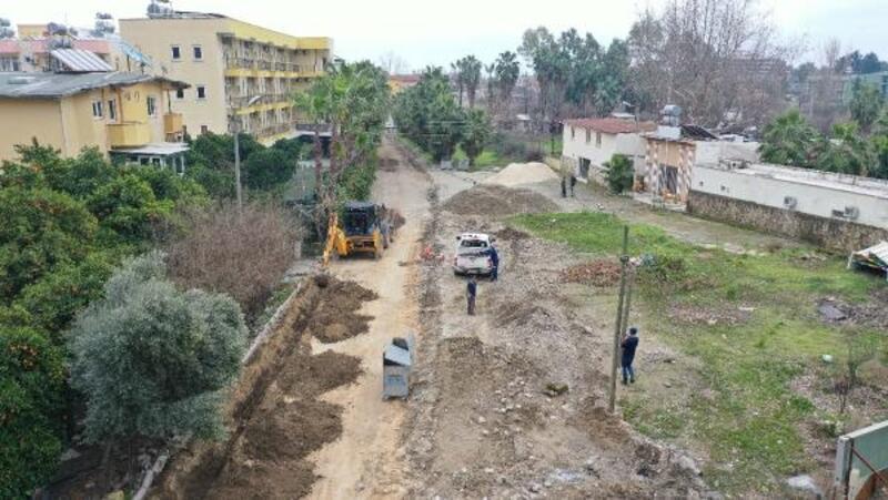 Kemer Belediyesi'nde alt yapı çalışmaları