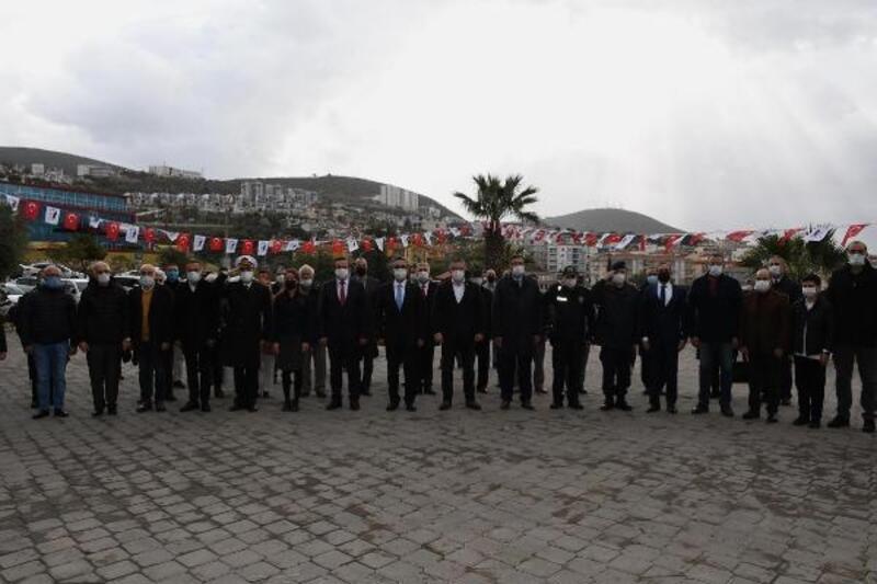 Ata'nın Kuşadası'na gelişinin 97'inci yılı törenle kutlandı