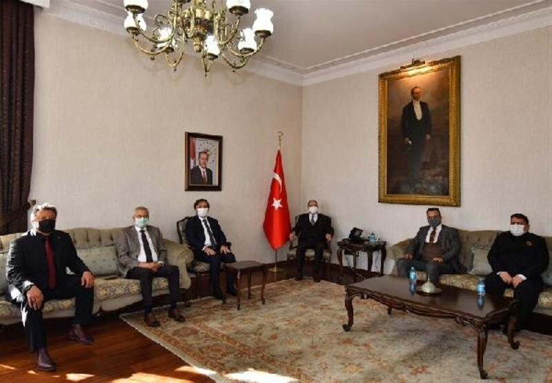 Aksaray Valisi'nden Konya Valisine ziyaret