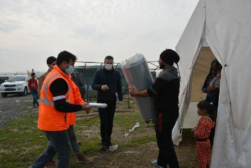 Büyükşehir'den mevsimlik tarım işçilerine destek
