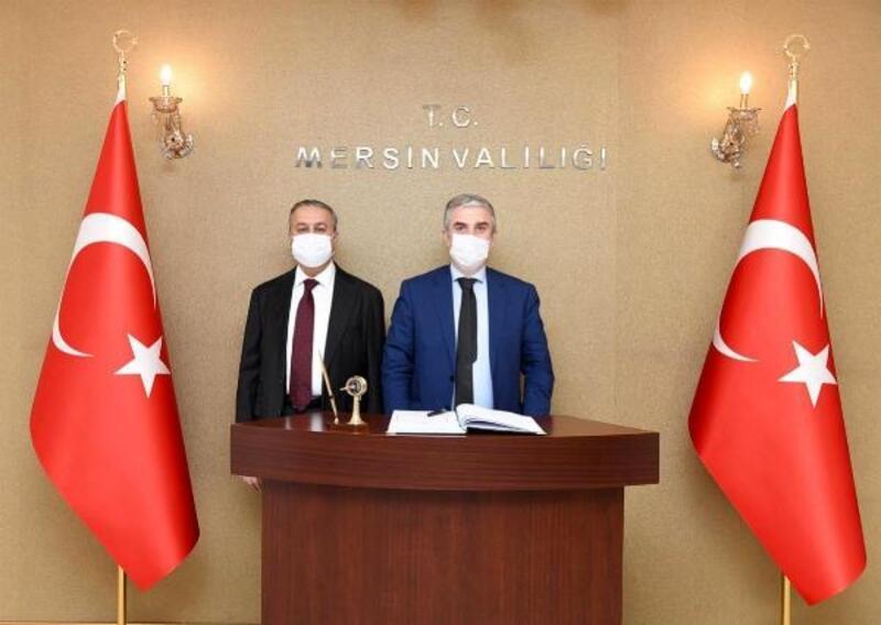 Danimarka Büyükelçisi Mersin'de