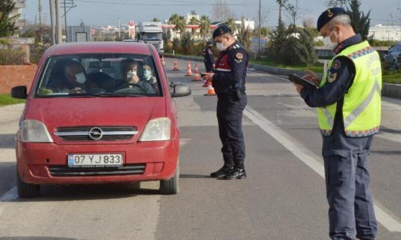 Jandarmadan trafik denetimi