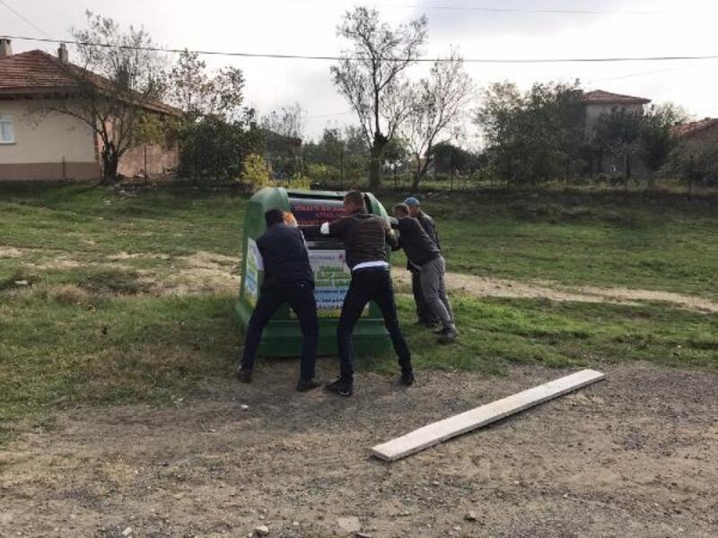 Süleymanpaşa'da zirai atıklar artık doğaya karışmıyor