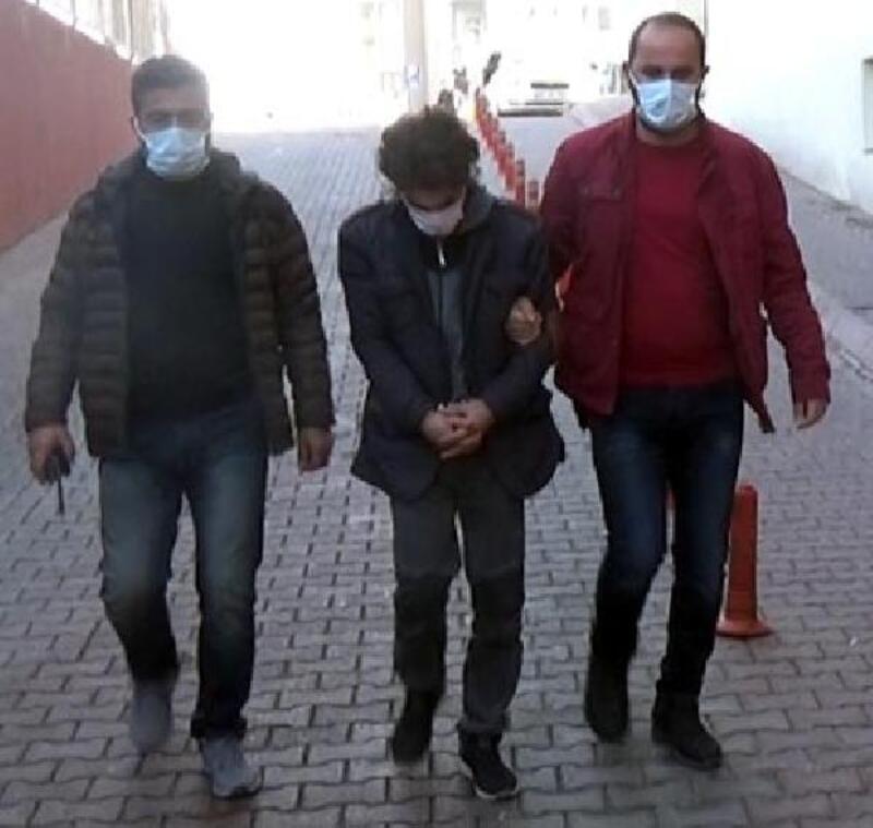 Kayseri'de çaldığı motosikletle gezerken yakalandı