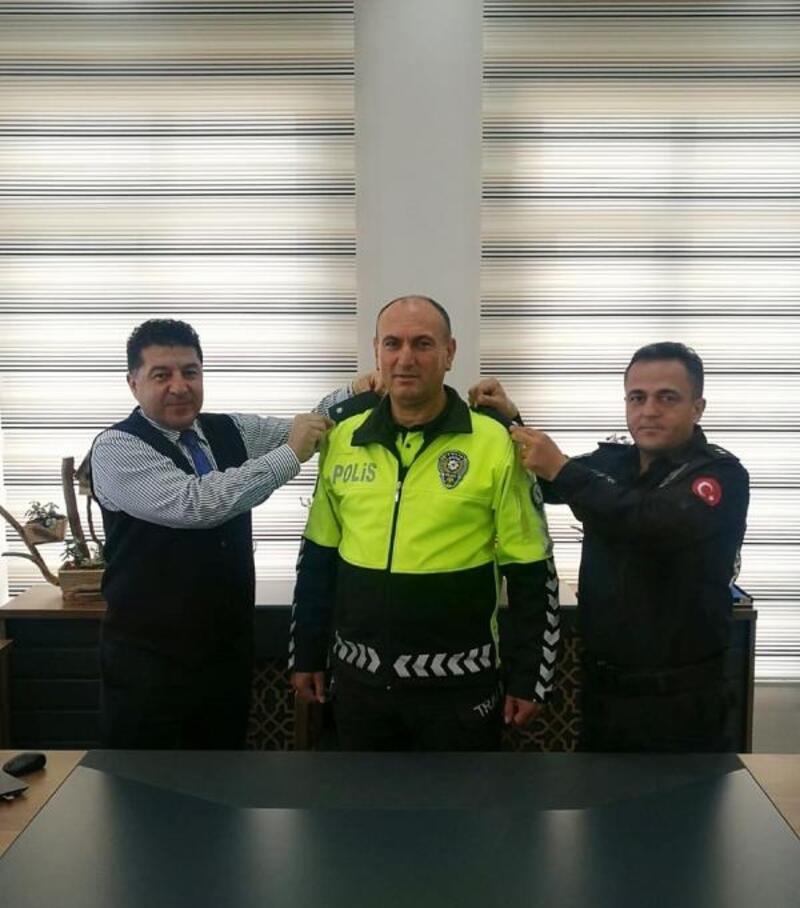 Mehmet Çetin Çelik rütbe aldı
