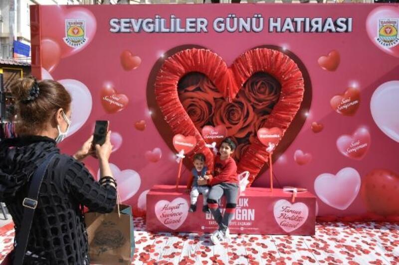 Tarsus Belediyesi'nden 14 Şubat'a özel çalışma