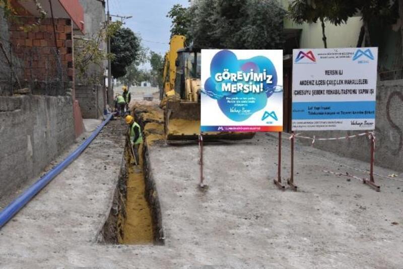 MESKİ'den Çay ve Çilek Mahalleleri'ne 43 bin 59 metre yeni içme suyu hattı