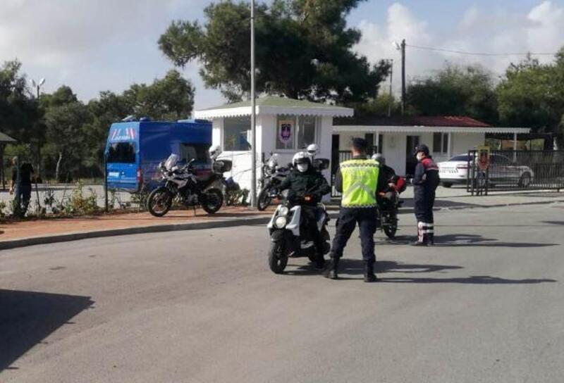 Manavgat'ta jandarmadan motosiklet ve traktör denetimi