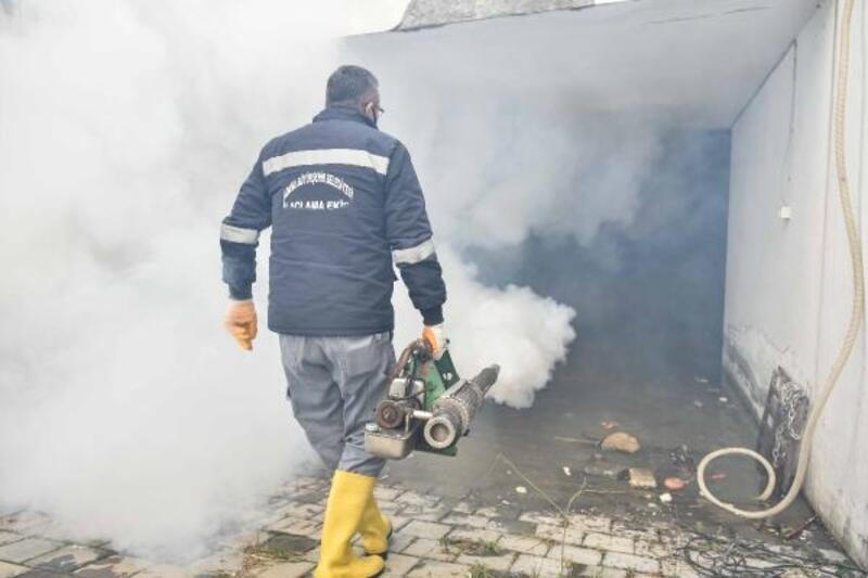 Büyükşehir, kış mevsiminde sivrisinekle mücadeleyi yoğunlaştırdı
