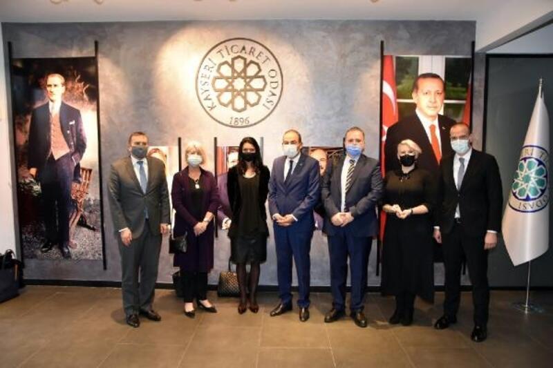 5 Büyükelçi'den KTO'ya ziyaret