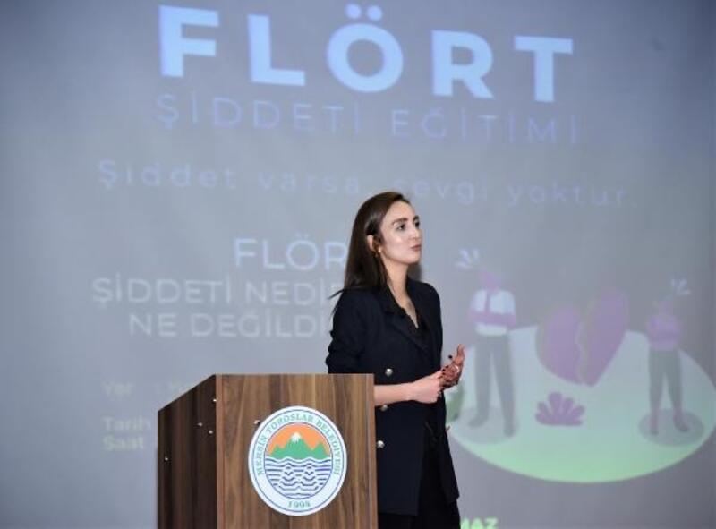 Toroslar Kadın ve Çocuk Danışma Merkezi'nden, 'flört şiddeti' semineri