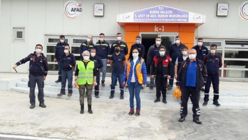 Karacabey'de arama kurtarma ekibi 'Karkurt' eğitimlere başladı