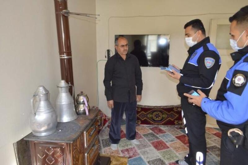 Polislerden soba zehirlenmelerine karşı uygulamalı uyarı