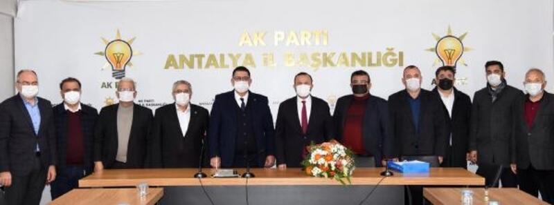 Esnaftan AK Parti İl Başkanı'na ziyaret