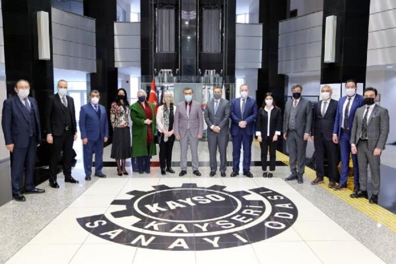 Büyükelçilerden KAYSO'ya ziyaret