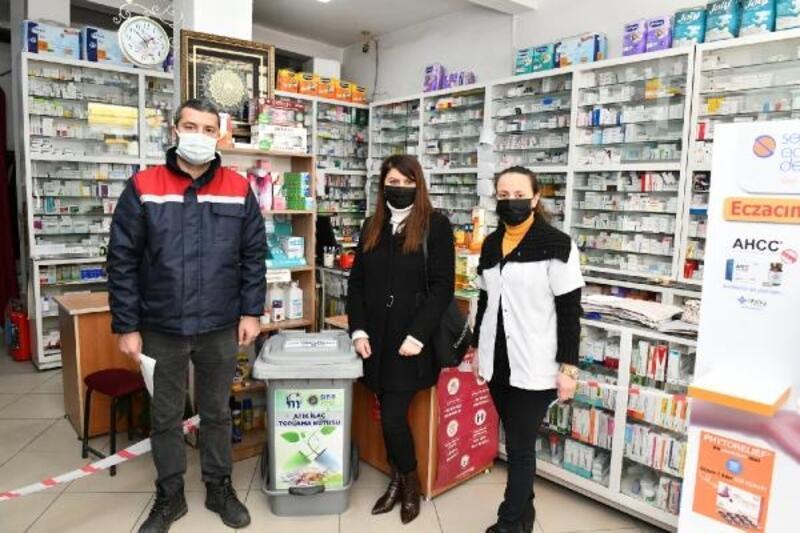 Mustafakemalpaşa'da atık ilaç toplama kampanyası başlattı