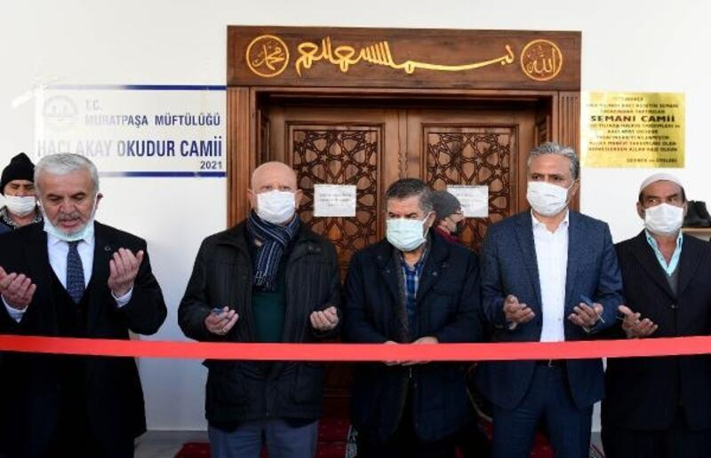 Hacı Akay Okudur Cami ibadete açıldı