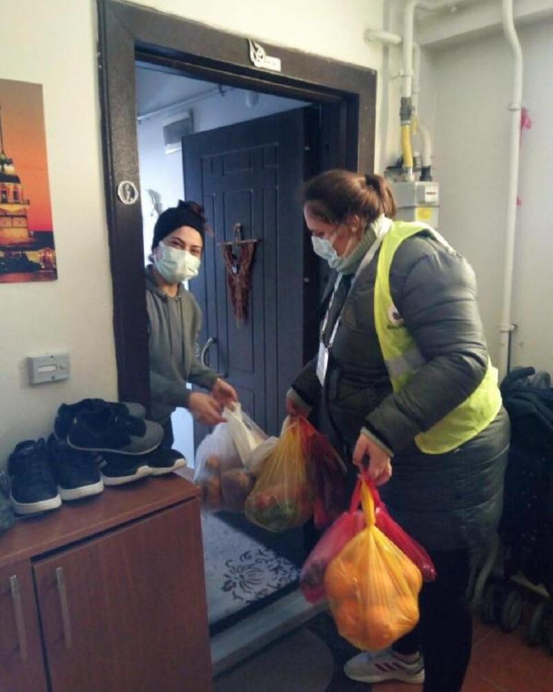 Kırklareli'de Vefa Sosyal Destek Grupları vatandaşların ihtiyacını karşıladı