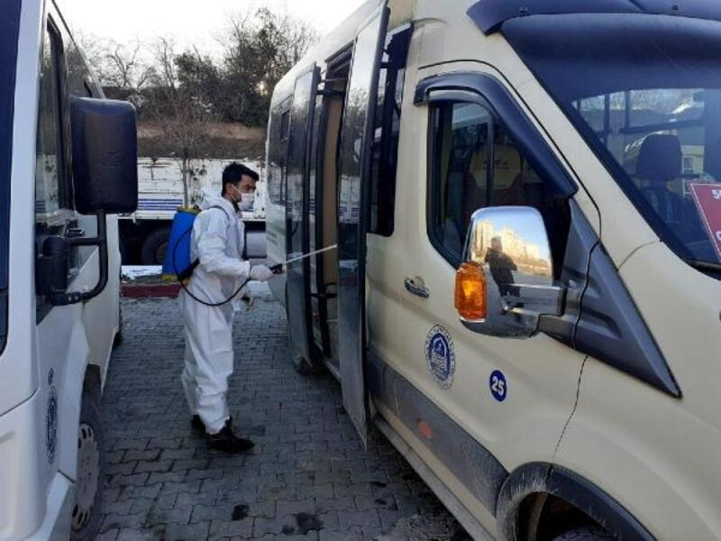 Niksar Belediyesi'nden dezenfekte çalışması