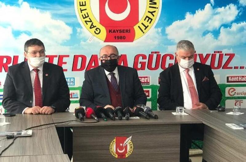 Yeniden Refah Partisi'nden KGC'ye ziyaret