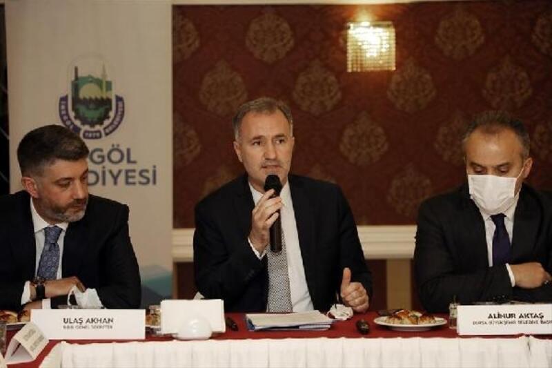'Yeni İnegöl Projesi' masaya yatırıldı