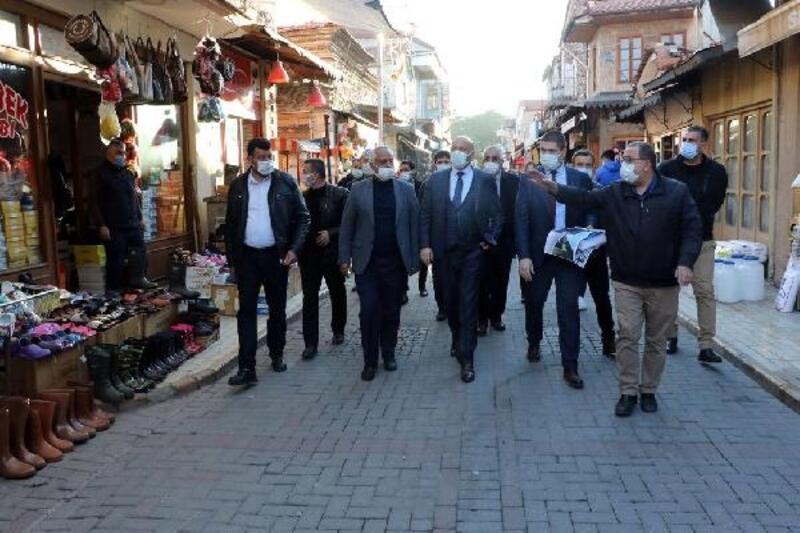 Kula'da tarihi çarşının çehresi değişecek