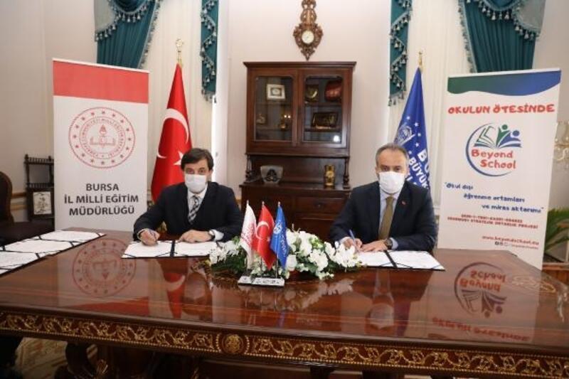 Bursa Büyükşehir Belediyesi ve İl Milli Eğitim Müdürlüğü arasında müze protokolü