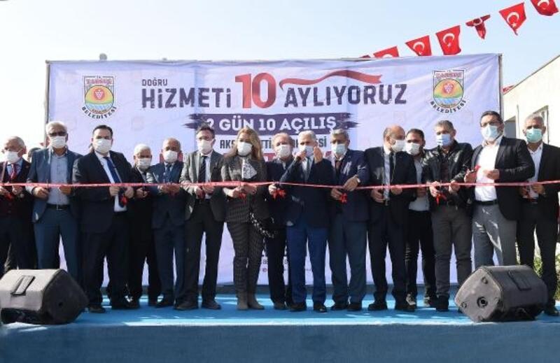 Tarsus'ta açılışlar sürüyor