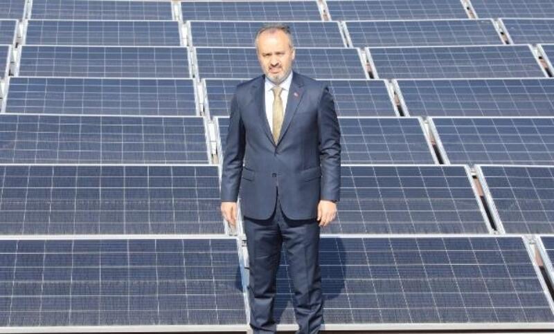 Bursa'da metro istasyonları enerji santraline dönüyor