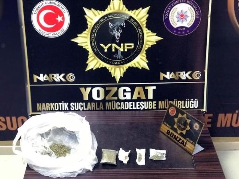 Yozgat'ta uyuşturucu ticaretine 5 gözaltı