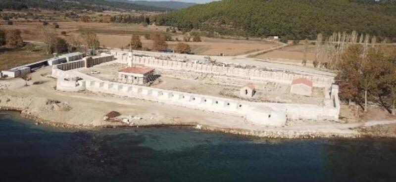 Bigalı Kalesi restorasyonunda sona yaklaşıldı